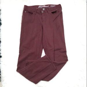 Eddie Bauer Slim Straight Jeans  Size 2 Petite